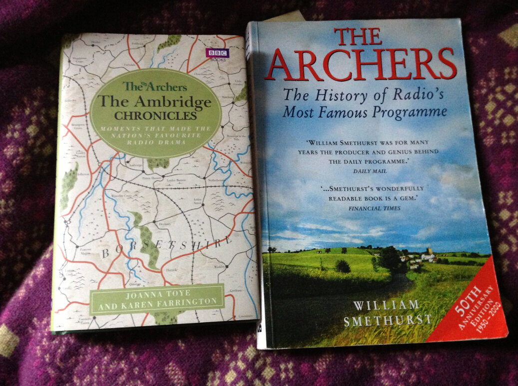 The Archers Book Covers