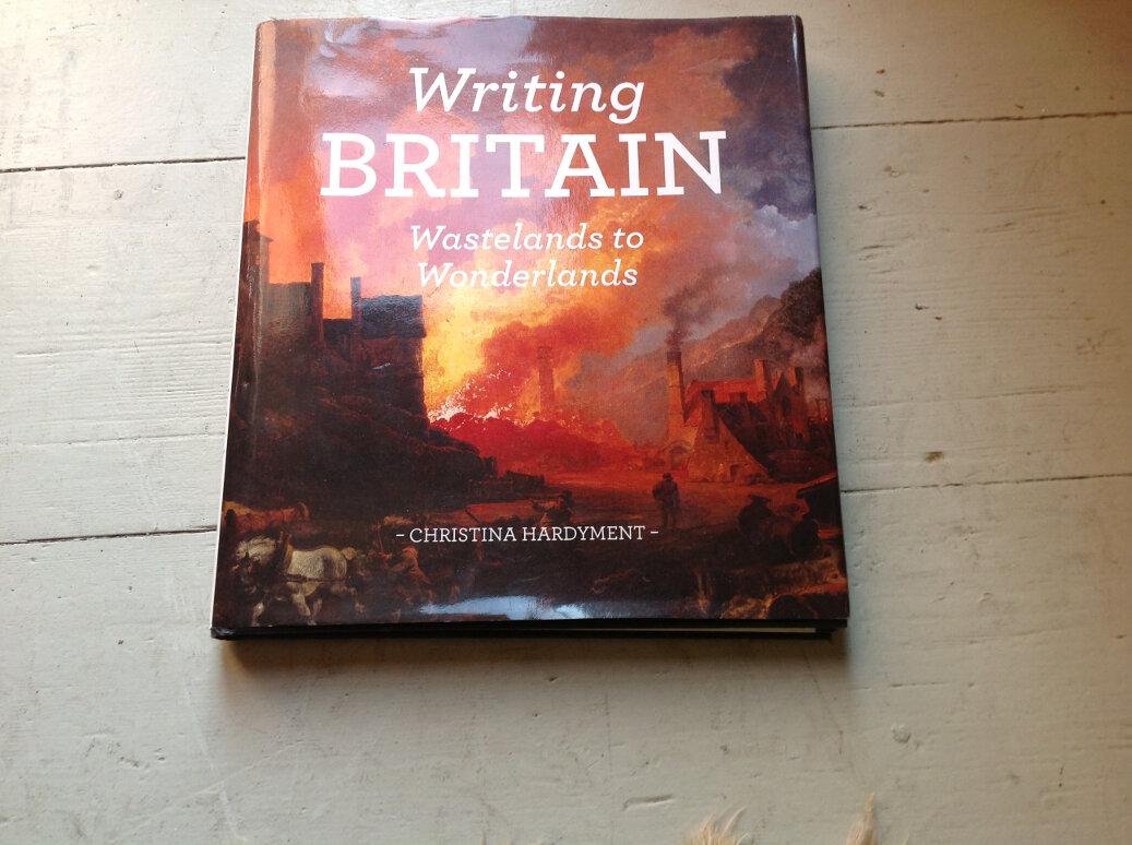 Writing Britain- Wastelands to Wonderlands Book Cover