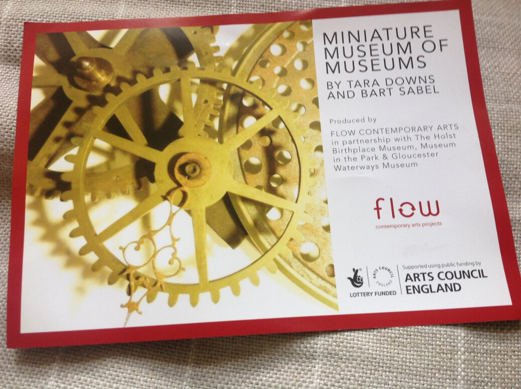 Miniature Museum of Museums by Tara Downs and Bart Sabel