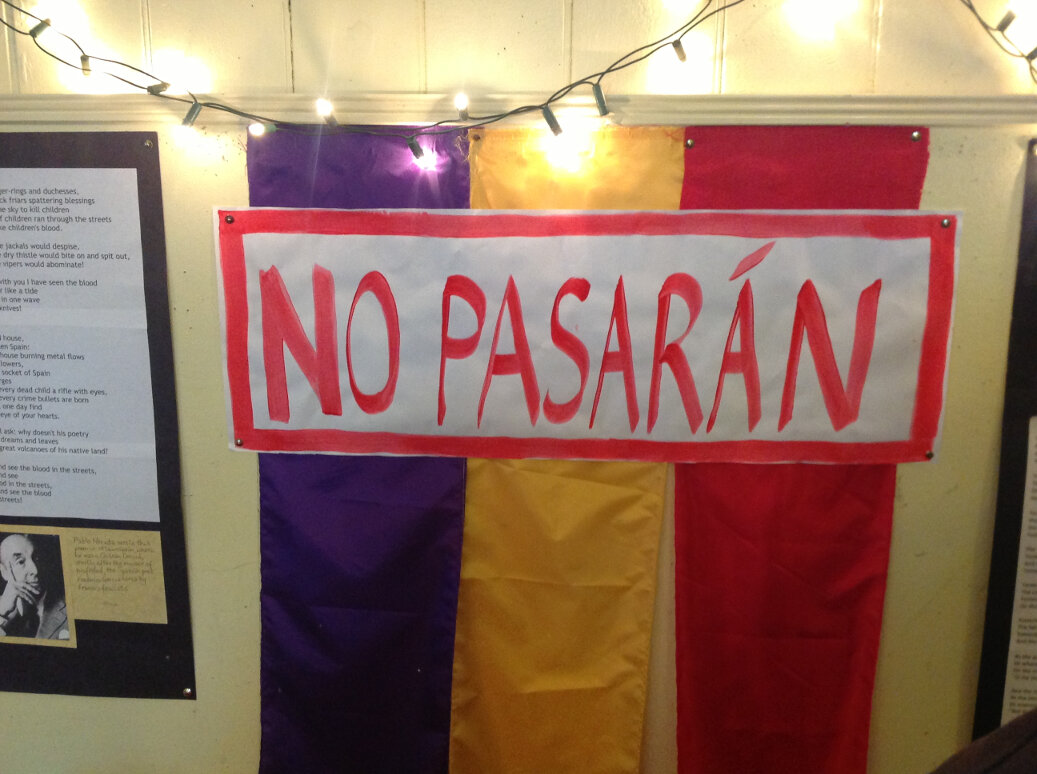 'No Pasaran!': A West Country Declamation