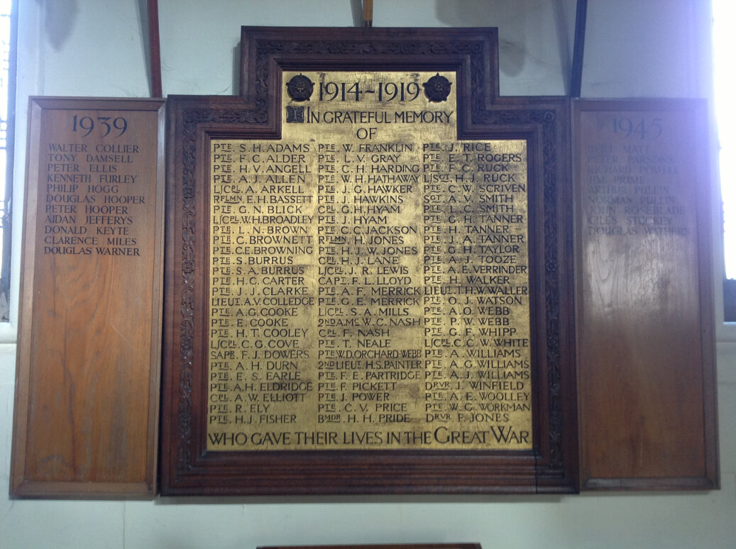 A Guide to the War Memorials of Stroud and the Five Valleys (11)