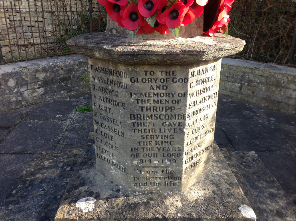 A Guide to the War Memorials of Stroud and the Five Valleys (40)