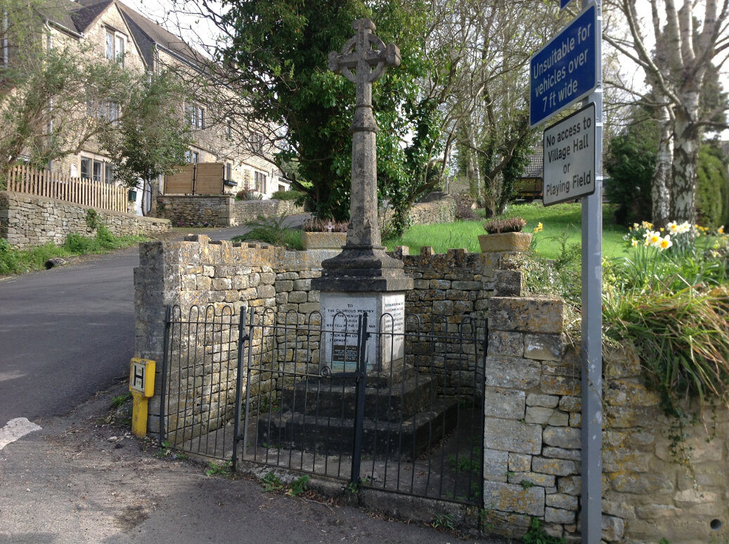 A Guide to the War Memorials of Stroud and the Five Valleys (61)