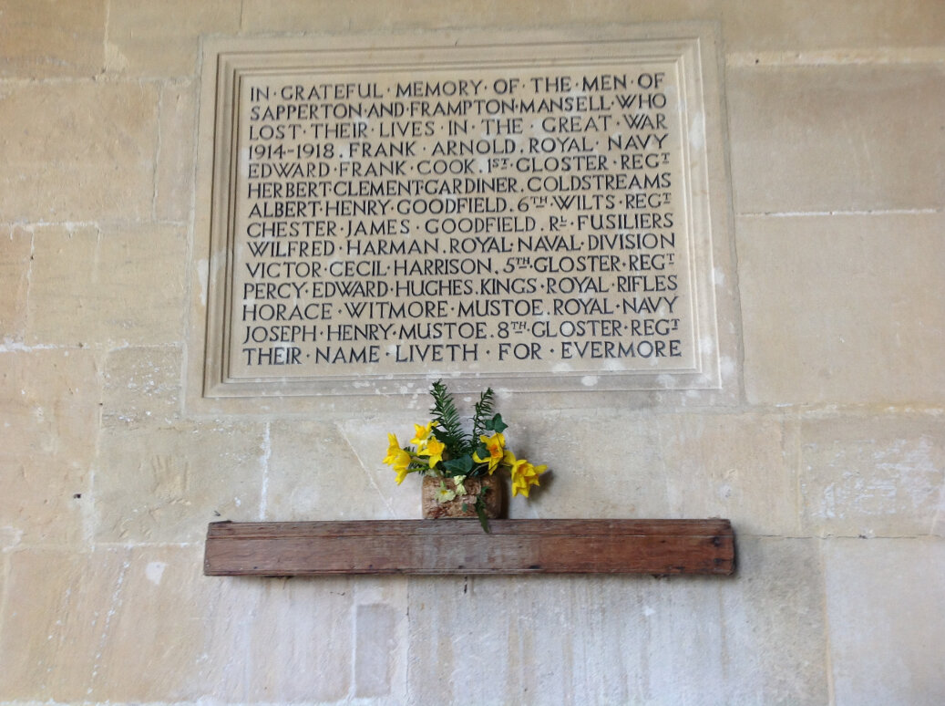 A Guide to the War Memorials of Stroud and the Five Valleys (63)