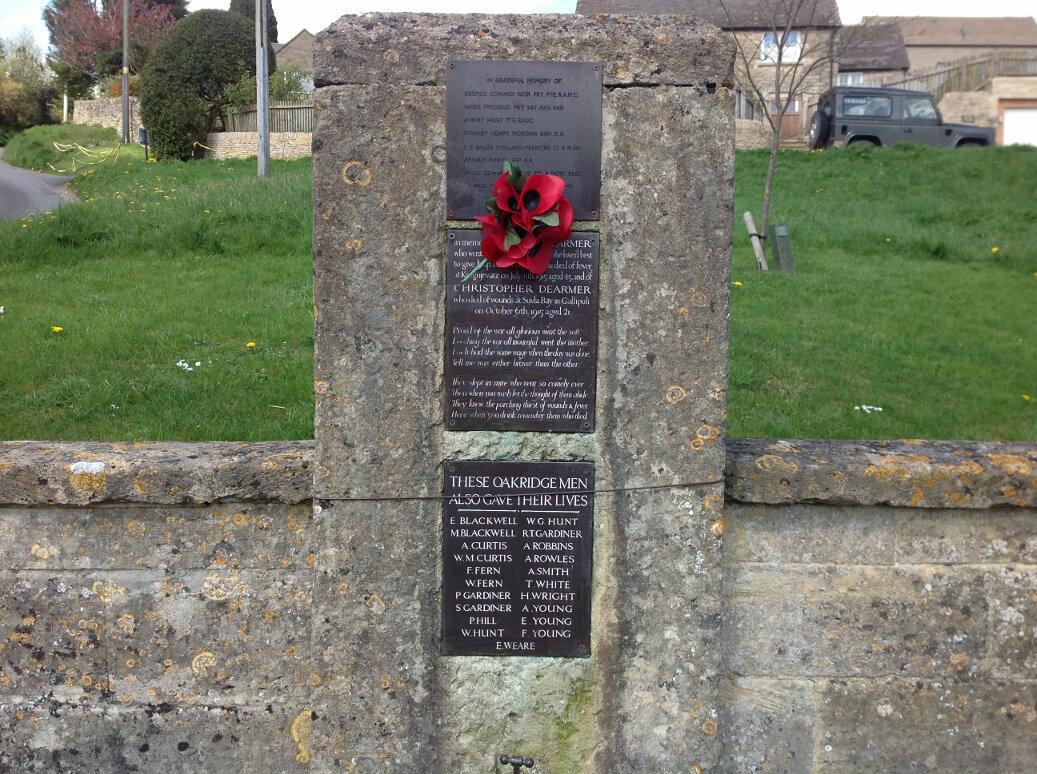 A Guide to the War Memorials of Stroud and the Five Valleys (65)