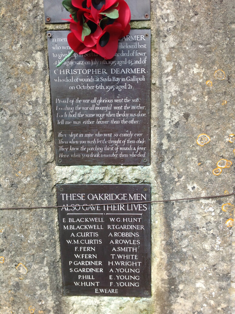 A Guide to the War Memorials of Stroud and the Five Valleys (66)