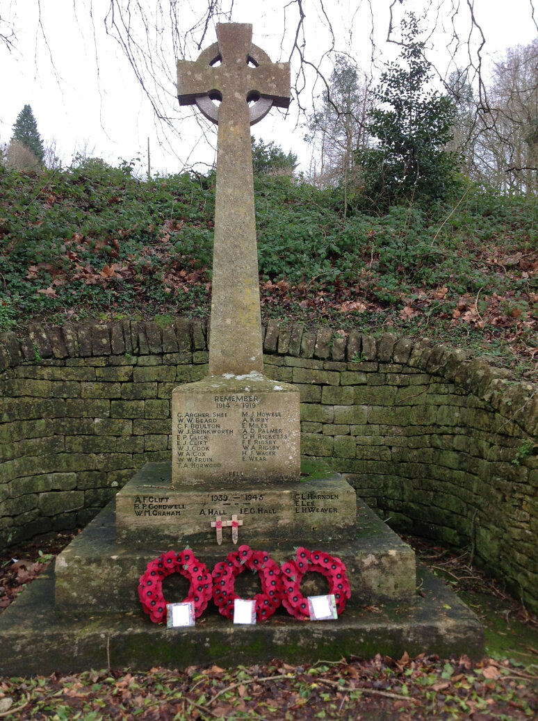 A Guide to the War Memorials of Stroud and the Five Valleys (9)