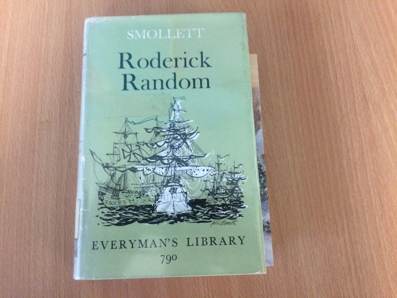 Everyman's Library by Roderick Random Book Cover