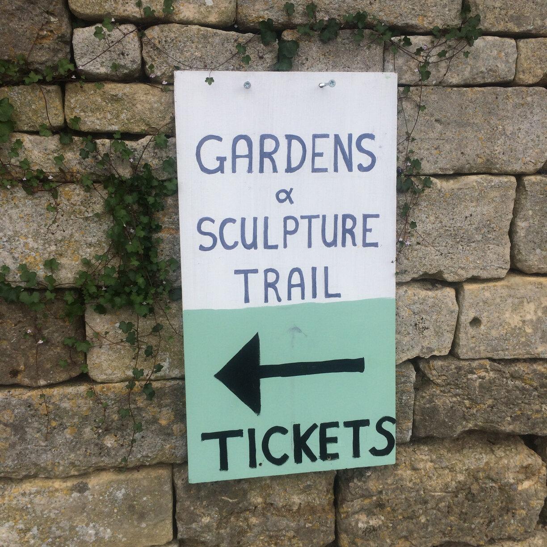 Rodborough Sculpture Garden Trail