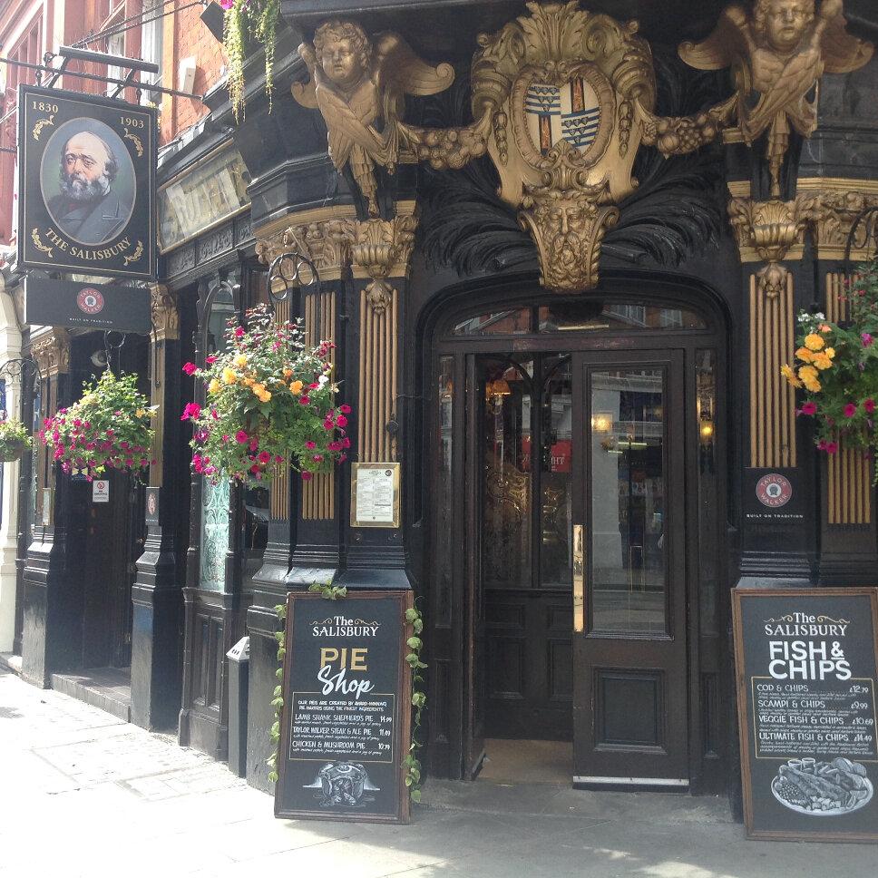London Pub Pilgrimage: A Baker's Dozen Or So