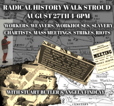 WEAVERS and WORKHOUSE WALK Saturday August 27th 4 of the afternoone clocke , startinge at Ye Ale House