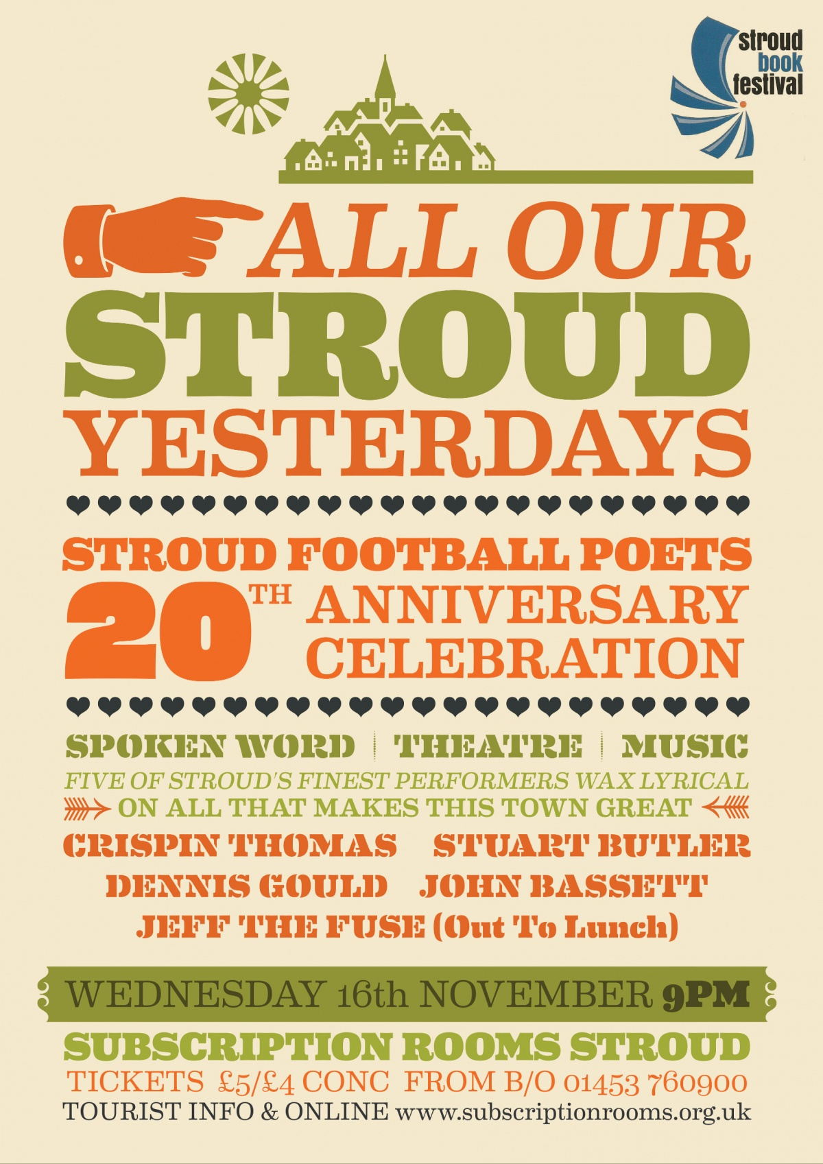 Voices of Conscience, Trenchcoats for Goalposts & All Our Stroud Yesterdays