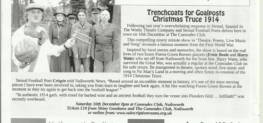 2016 Nailsworth News Trenchcoats Review Dec