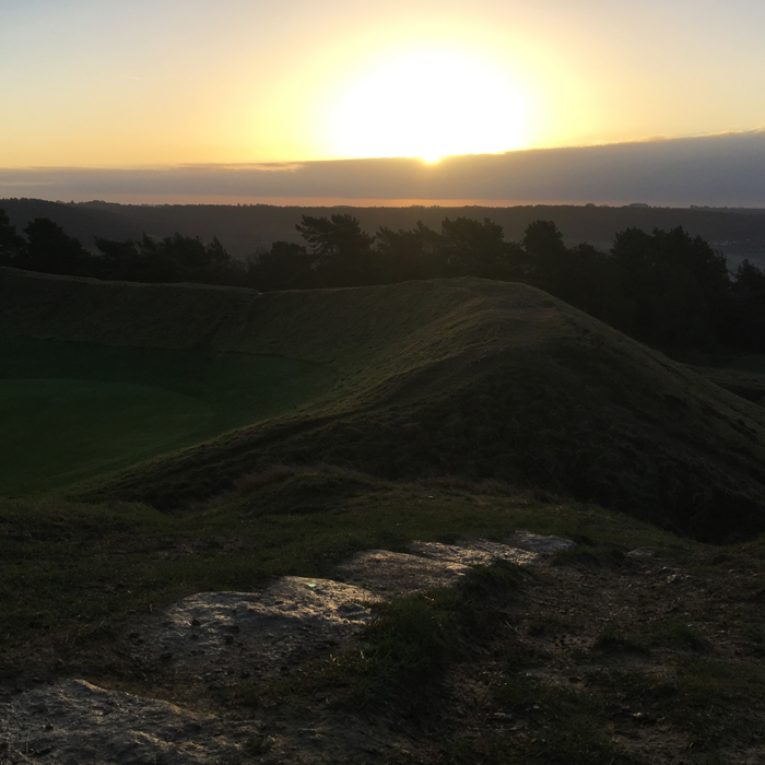 Sunrise Painswick Beacon
