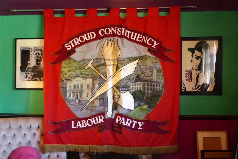 Labour Party Banner by Deborah Roberts