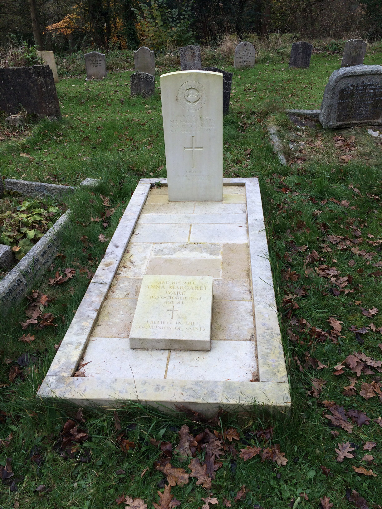 On seeing the grave of Sir Fabian Ware at Amberley (2)