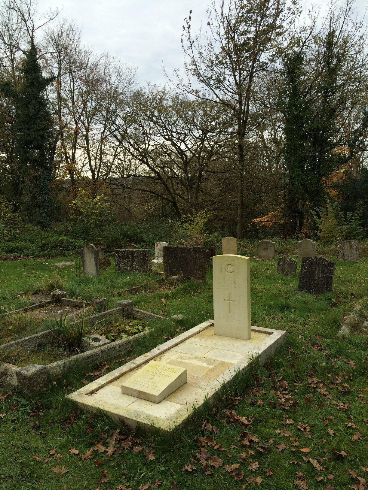On seeing the grave of Sir Fabian Ware at Amberley (4)