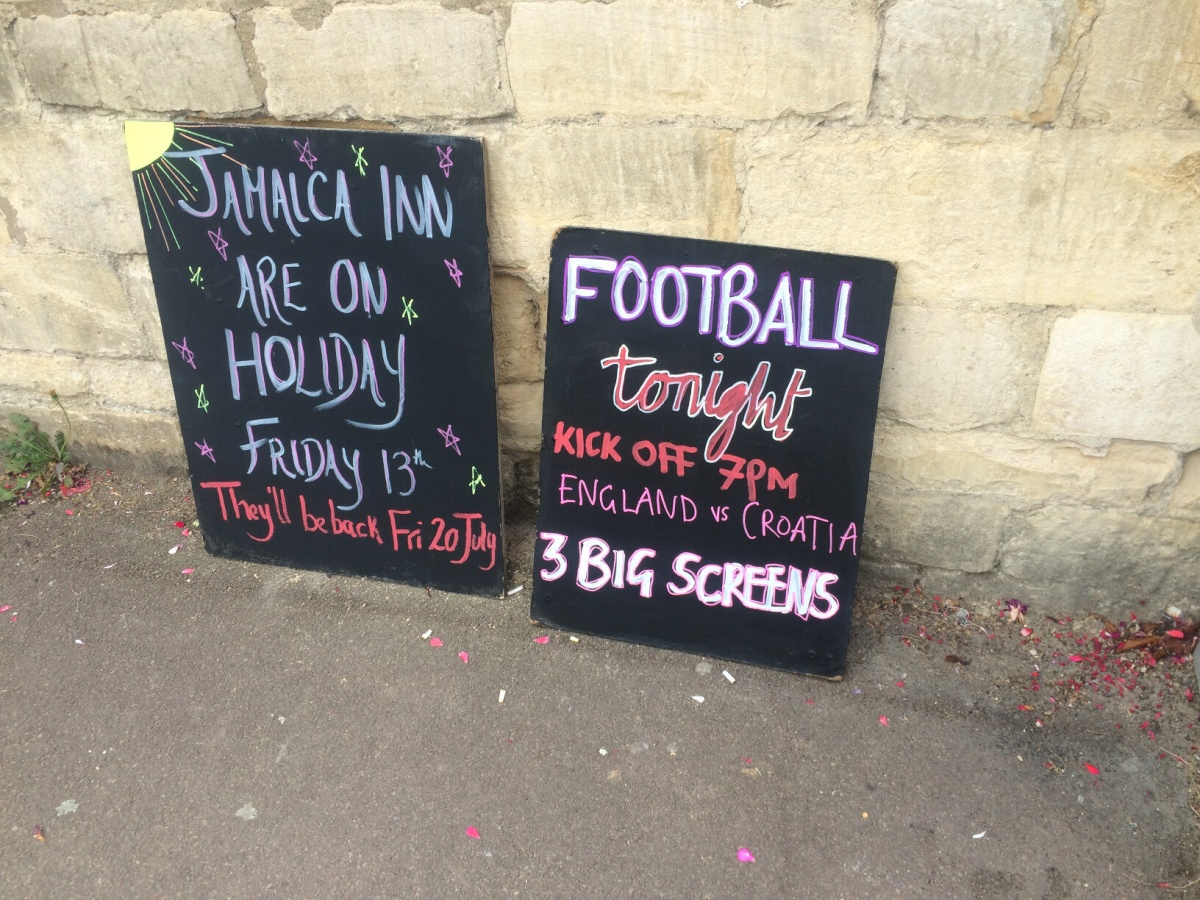 Football's Coming Home at The Prince Albert
