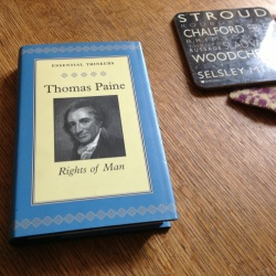 Thomas Pain - Rights of Man Cover