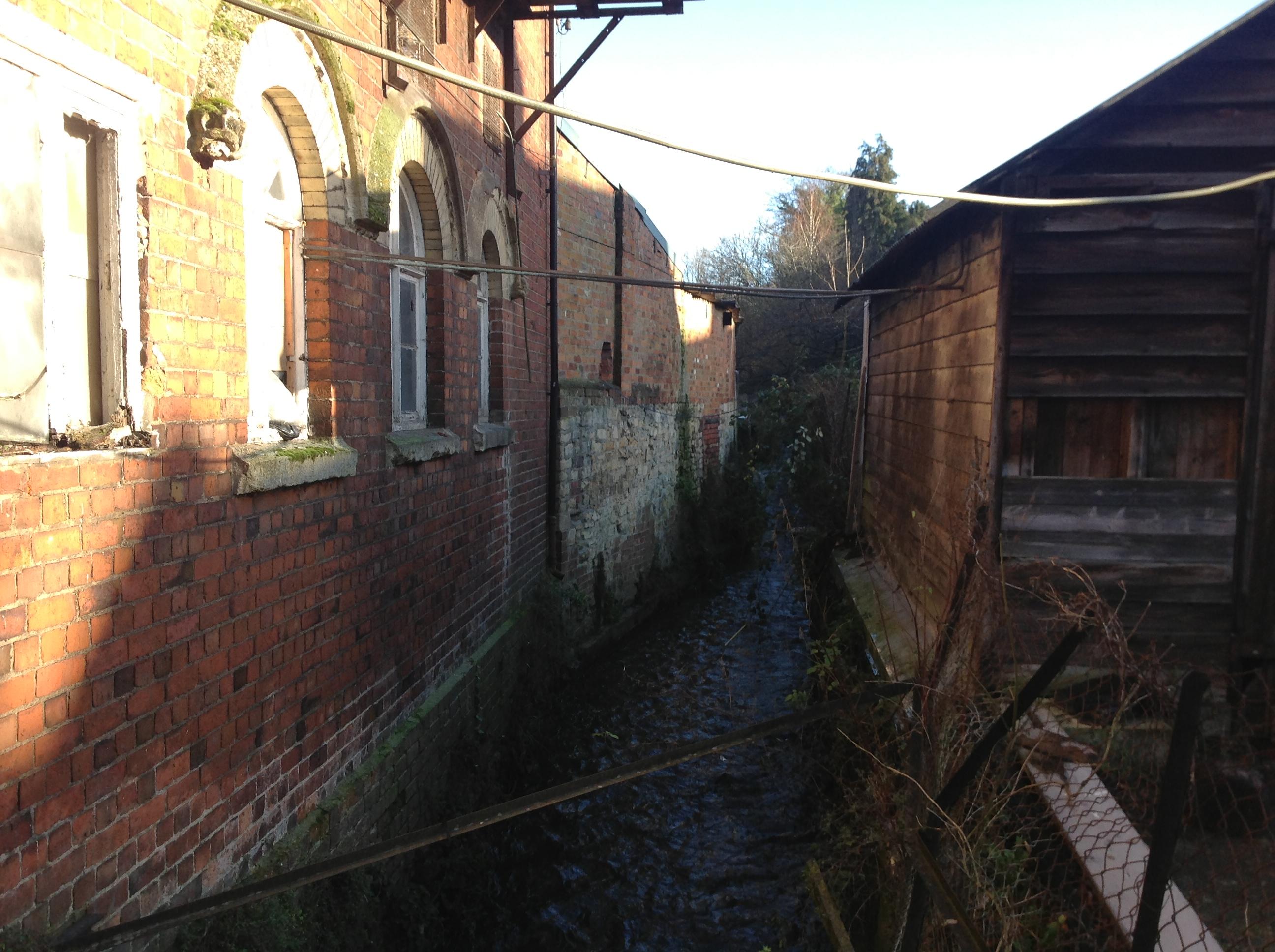 Radical Stroud - Stuart Butler - The Slad Brook in Stroud
